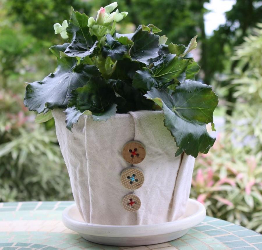 Дизайн цветочных горшков своими руками фото примерами