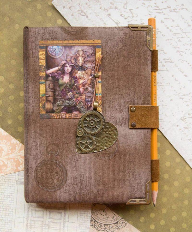 Обложка ежедневник своими руками с картинкой