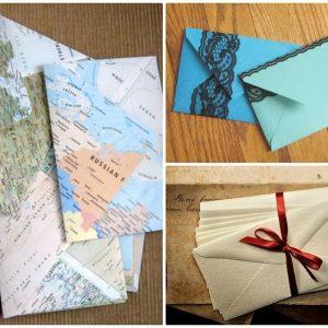 Как сделать конверт – простые способы, поэтапные схемы и понятные инструкции (95 фото-идей)