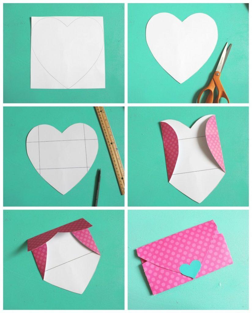 Открытки в форме конверта своими руками