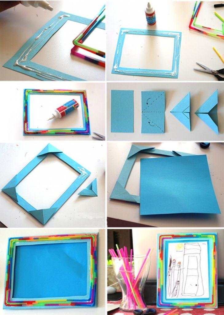 Как сделать открытку или рамку для фото