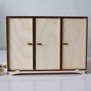 Как сделать кукольный шкаф – простые идеи как сделать мебель для кукол в домашних условиях (80 фото примеров)