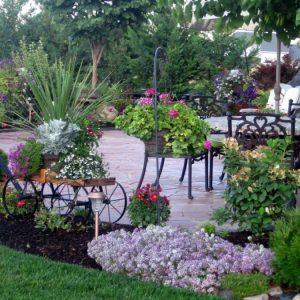 Патио на даче – инструкция по созданию, советы как построить и стильно обустроить уютный дворик