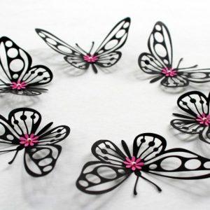 Поделка бабочка – пошаговый мастер-класс изготовления из различных материалов красивой бабочки (95 фото-идей)