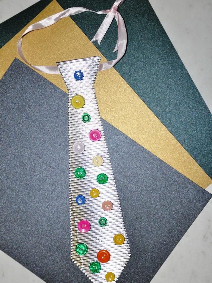 Открыток годовщину, галстук из ленточки на открытку