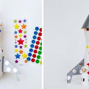 Поделка ракета: как сделать из картона и бумаги, бутылки и банки декоративную ракету (80 фото)