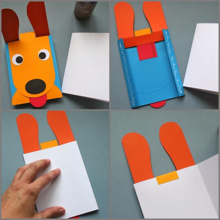 Как сделать движущиеся картинки в открытке