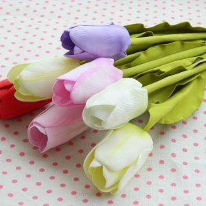 Поделка тюльпаны: мастер-класс, схемы и проекты лучших искусственных цветов. 95 фото и советы как сделать тюльпаны своими руками