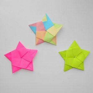 Поделка звезда – варианты и инструкции по изготовлению объемных и новогодних звезд (75 фото)