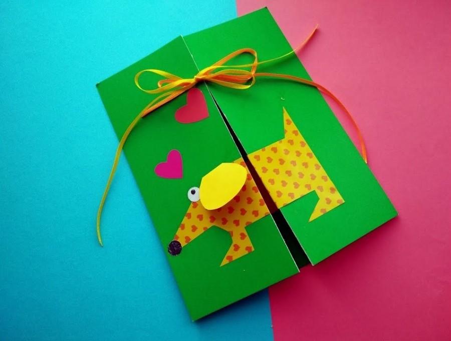 Как сделать открытку на день рождения из бумаги ребенку, картинки