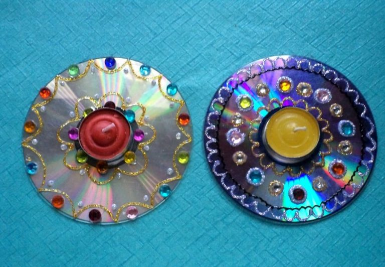 цветы из дисков картинки когда