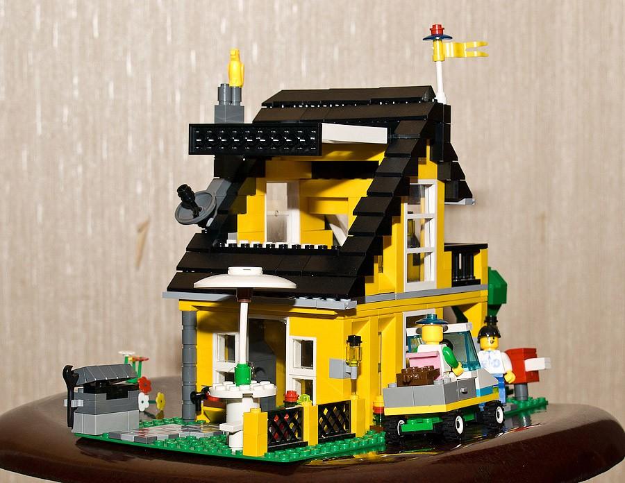 Обзор Lego самодельного дома!!! - YouTube | 696x900