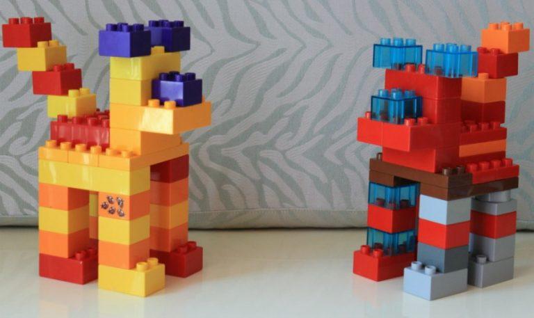 поделка с фото из кубиков компания весьма