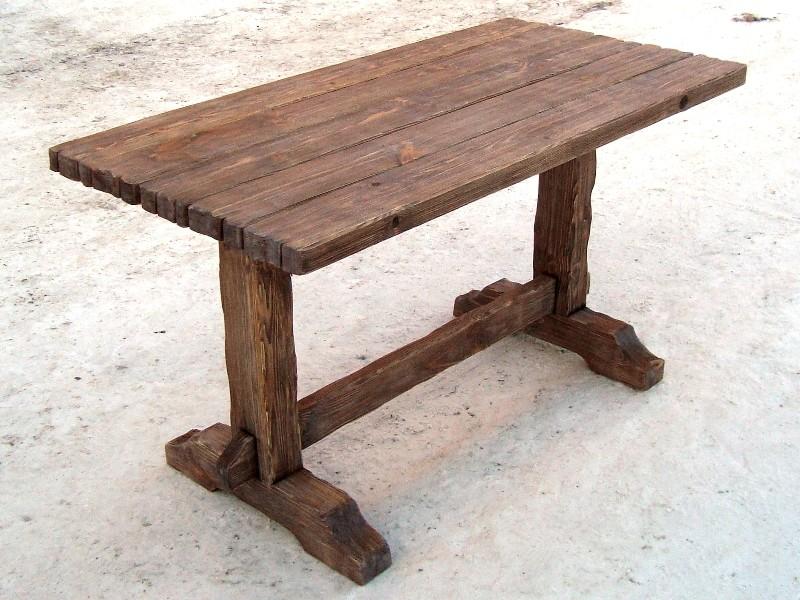 самодельные столы из дерева фото стала любимым местом