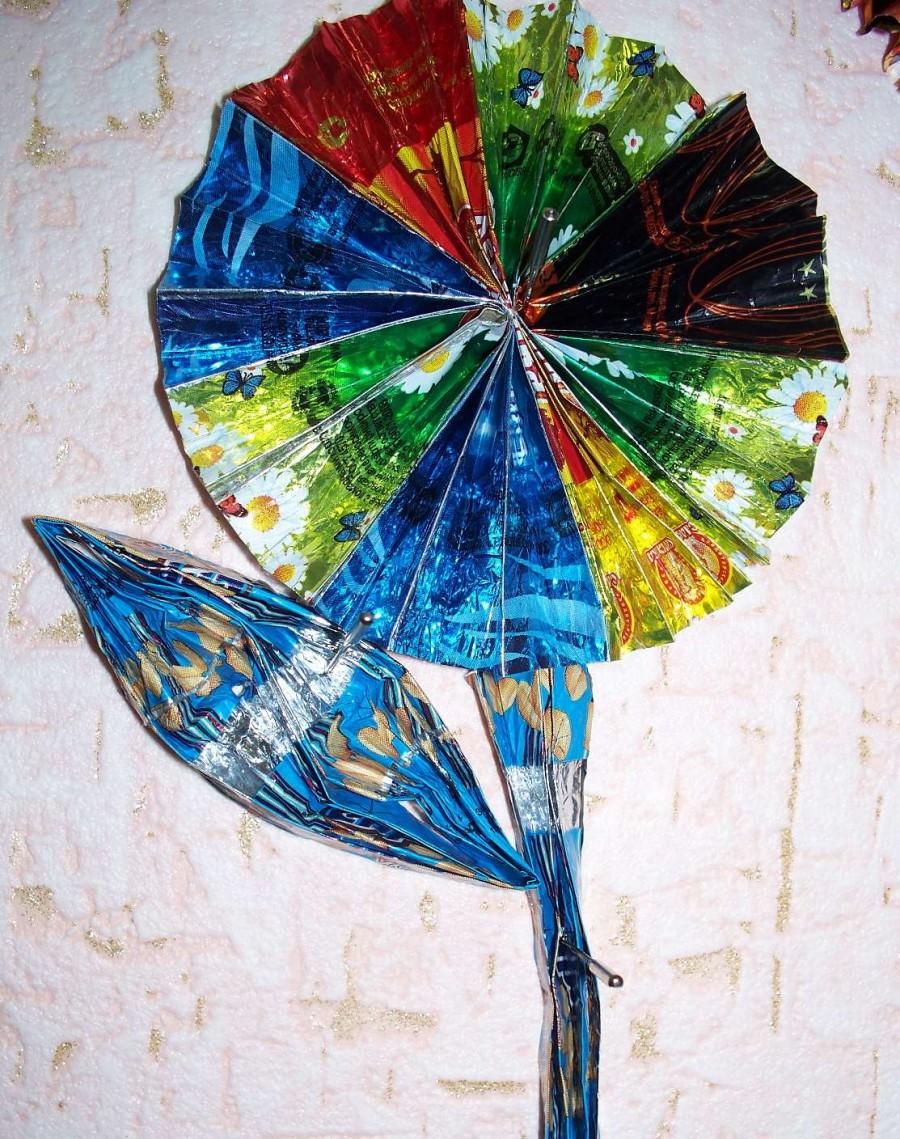 Картинки из фантиков от конфет своими руками