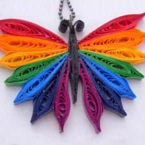 Как сделать бабочку: мастер-класс по изготовлению из различных материалов (110 фото)