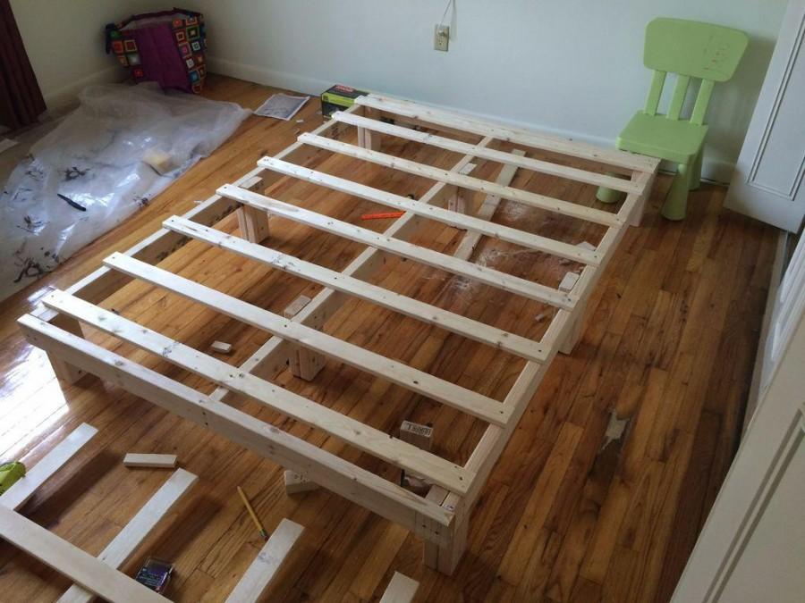 вам деревянная кровать сделать самому фото десятку самых