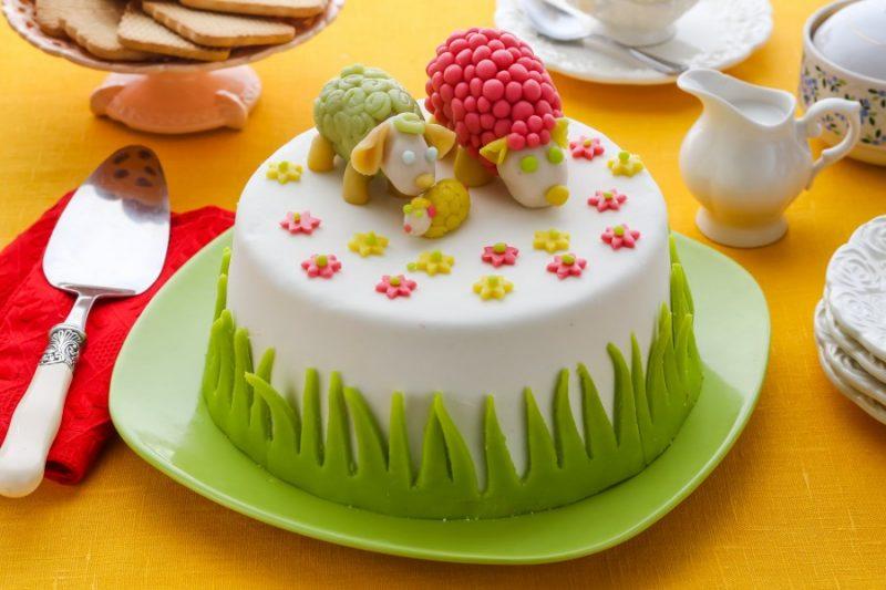 Рецепт торта украшен мастикой