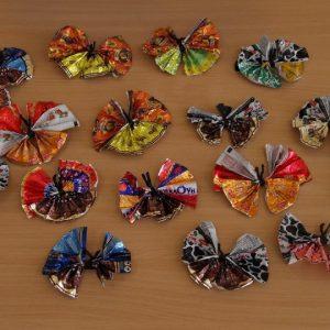 Поделки из фантиков: мастер-класс и идеи изготовления разных украшений своими руками (75 фото)